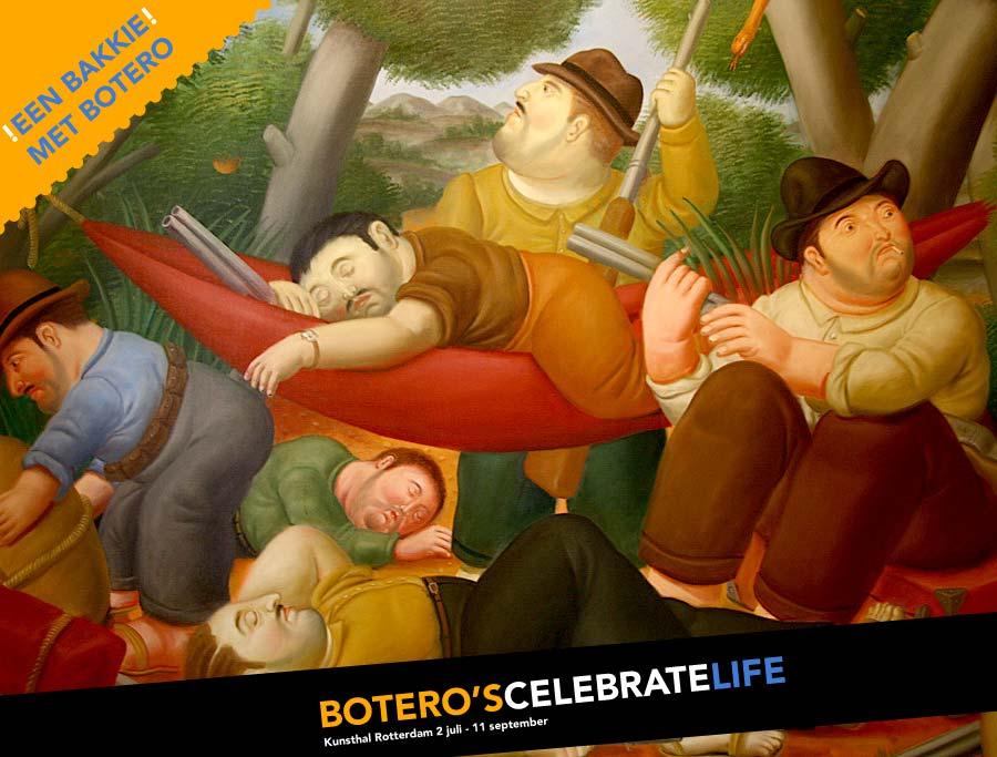 Colombiaans.nl gaat een bakkie doen met Botero!