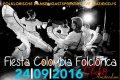 Aftellen naar het feest van Aires Colombianos a.s zaterdag