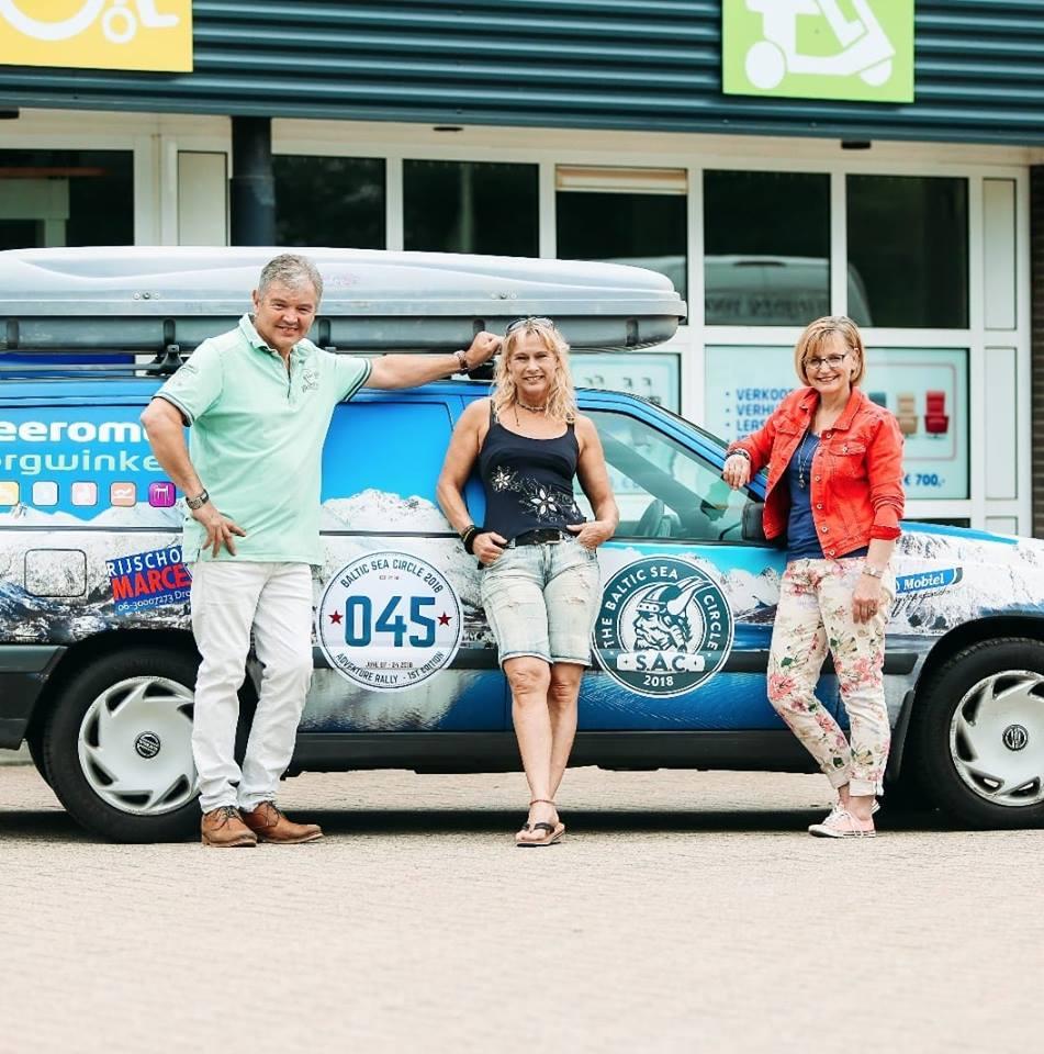 Bianca Huls rijdt Baltic Sea Rally voor 2 goede doelen Colombia
