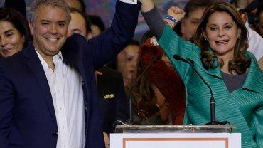 Iván Duque is de nieuwe Colombiaans president