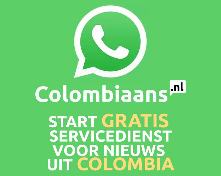 Colombiaans.nl start gratis Whatsapp-service