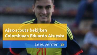 Ajax-scouts bekijken Colombiaan Eduardo Atuesta
