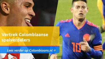 Vertrek Colombiaanse spelverdelers