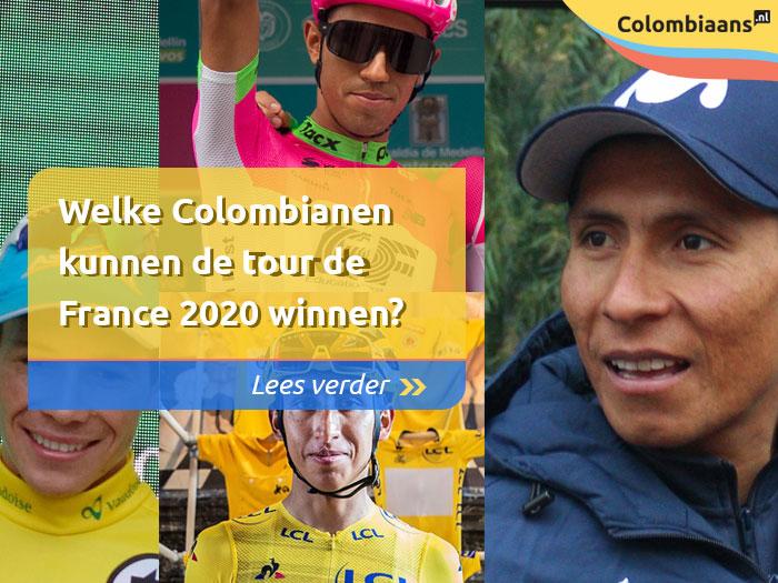 Welke Colombianen kunnen de tour de France 2020 winnen?