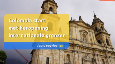 Colombia start met heropening internationale grenzen