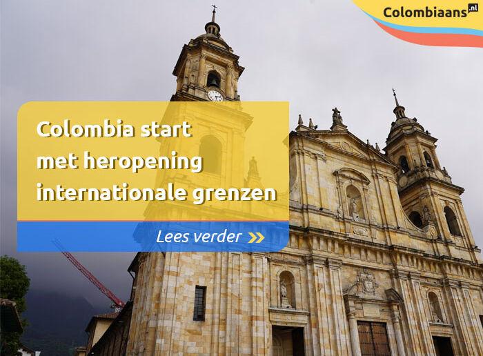 Colombia start met heropening internationale grenzen