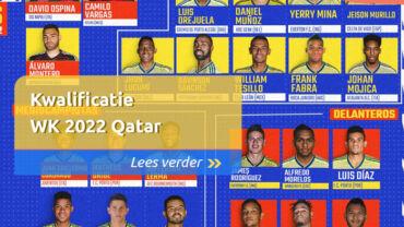 Kwalificatie WK 2022 Qatar