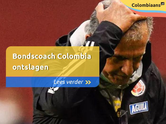 bondscoach colombia ontslagen