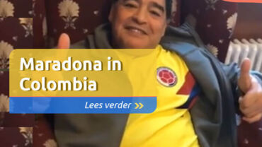 Maradona in Colombia