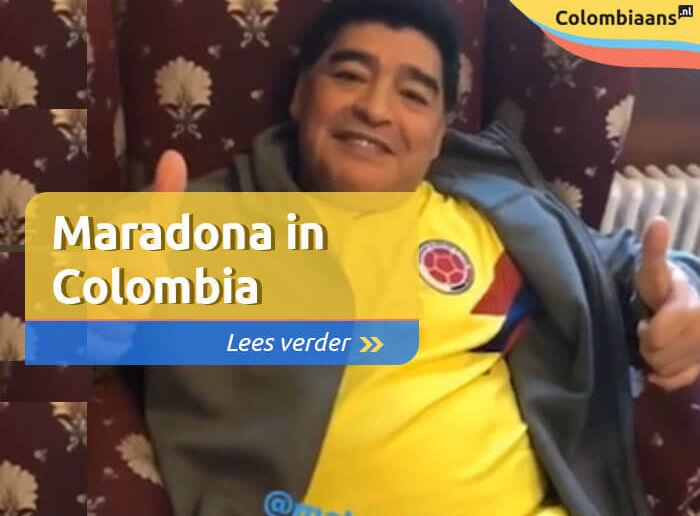 Maradona in Colombia